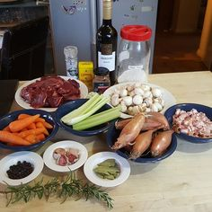 Soon to be venison casserole with cheese and rosemary cobbler.