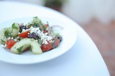 Our Greek Salad is so Photogenic!