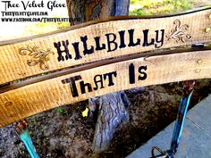 "The Ballad of Jed Clampett - ""Hillbilly that is.  Set a spell.  Take your shoes off."" - Vintage Chairs."