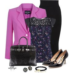 """""""Stylish in the Office"""" by kginger on Polyvore"""