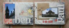 mini album souvenirs de Londres 2