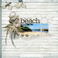 Inspired the very beaches that I spend most of my life, loving and being a part of. This life documenting Digital Scrapbook Kit with detailed shabby papers with an easy seasonal kit to go to time and again. PLEASE NOTE: This product was sold previously, check your files bef...