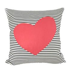 I pinned this Heart Pillow II from the Pattern Perfect event at Joss and Main!