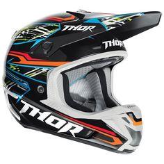 Thor Motocross Verge Boxed Helmet 2014 Black MX