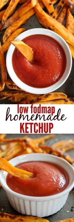 A simple, Paleo and Low Fodmap ketchup recipe perfect for sensitive tummies. Fodmap Recipes, Dairy Free Recipes, Paleo Recipes, Cooking Recipes, Fodmap Foods, Gluten Free, Potato Recipes, Fructose Free Recipes, Lactose Free