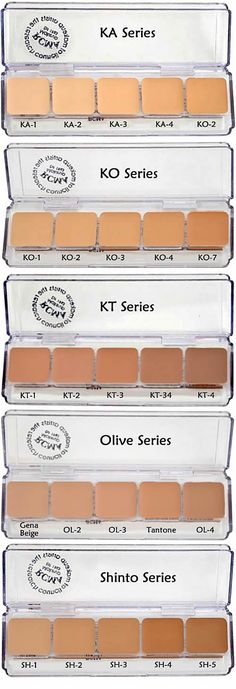 PPS-0423 RCMA 5 Part �Series Favorites Palette is a kit friendly version of the most trusted and well-known professional foundation brand used in the film and TV industry.� It has been the go-to choice of professional artists and celebrities around the world for over 40 years.� These super portable 5 color palettes have the most popular high demand true skin shades, and can cover any skin tone in adjustable (sheer to full) coverage as needed.� Best of all, they are perfect to use as ...