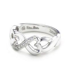 Tiffany and Co infinity ring jewelry