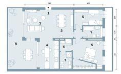 Open space contemporaneo: una casa di 100 mq che sembra più grande - Cose di Casa