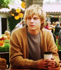 Evan Peters. One of my favorite TV show characters - Tate on American Horror Story :)