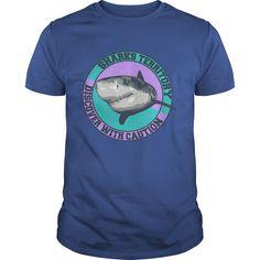 Sharks territory T-Shirts, Hoodies. ADD TO CART ==► https://www.sunfrog.com/Hobby/Sharks-territory-Royal-Blue-Guys.html?id=41382