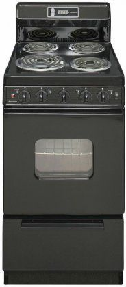 20 in. 2.42 cu. ft. Electric Range in Black -- This is an Amazon Affiliate link. Check out the image by visiting the link.