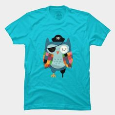 Captain Whooo T Shirt By AndyWestface Design By Humans
