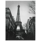 "Found it at Wayfair - Oriental Furniture Eiffel Tower Sun Glow Canvas Wall Art - 31.5"" x 23.5"""