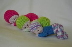 ZZtvori / Spinkajúca bábika Crochet Dolls, Crochet Projects, Dinosaur Stuffed Animal, Create, Toys, Handmade, Toy, Games, Hand Made