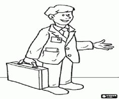 Doctor Coloring Pages For Kids - http://fullcoloring.com/doctor ...