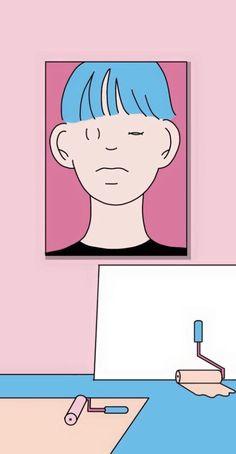 가져가실 때 댓글 부탁드립니다 #색감 #배경 #일러스트 #신모래 #분위기 #공유 #핑크 #예쁜 #아이폰 #다운 #영감 #예술 Illustration Story, Character Illustration, Digital Illustration, Psychedelic Drawings, Tumblr Backgrounds, Illustrations And Posters, Pictures To Draw, Cute Wallpapers, Cute Art