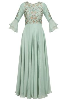 Anarkali - Buy anarkali dress, anrkali suit, anarkali gown & anarkali kurti online - Pernia's Pop Up Shop New Dress Design Indian, Dress Indian Style, Bollywood Outfits, Pakistani Outfits, Indian Wedding Outfits, Indian Outfits, Velvet Dress Designs, Stylish Dress Designs, Stitching Dresses