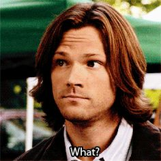 actually puppy sam Winchester tell me this is not adorable