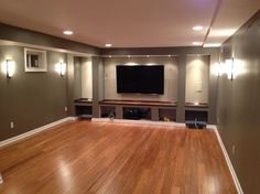 Basement Remodel - 1 traditional
