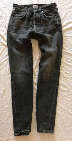 ~ CITIZENS OF HUMANITY GIA HIGH RISE ANKLE STRAIGHT LEG JEANS (COOLEST FIT!)  24 #CitizensofHumanity #jeans