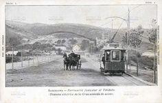 Barcelona: Tranvía eléctrico de la Gran Avenida del Tibidabo