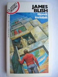 """Il romanzo """"Mondi invisibili"""" (""""Jack of Eagles"""") di James Blish è stato pubblicato per la prima volta nel 1952. In Italia è stato pubblicato dalla Casa Editrice La Tribuna con il titolo """"L'asso di coppe"""" nel n. 8 della collana """"Galassia"""" e da Mondadori con il titolo """"Mondi Invisibili"""" nel n. 47 della collana """"Urania"""" e nel n. 139 della collana """"Classici Urania"""". Copertina di Oscar Chichoni per l'edizione """"Classici Urania"""". Clicca per leggere la recensione di questo romanzo!"""