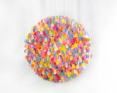 Gummy Bears Candelier por Kevin Champeny - Design Atento