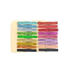 Hand dyed mini clothespins - Glittered Clothespins - Altered pins | Todo Papel | Color Lace Paper Doilies & Pretty Stationery
