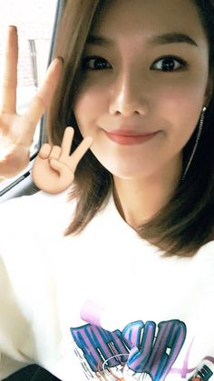 SNSD Sooyoung greets fans with her pretty selfie ~ Wonderful Generation ~ All About SNSD, Wonder Girls, and f(x)