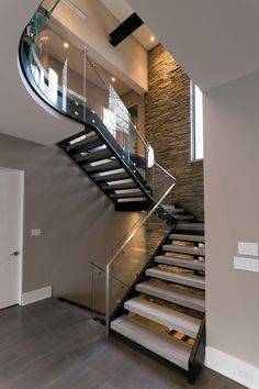 Open riser stairs have grown in popularity over the past several years.