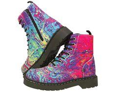 Mix Paint Boots | T.U.K. Shoes
