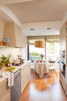 Home Decoration Ideas and Design Architecture. DIY and Crafts for your home renovation projects. Home Interior, Kitchen Interior, Interior Design, Cocina Office, Kitchen Dining, Kitchen Decor, Dining Rooms, Sweet Home, Kitchen Countertops