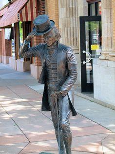 James Monroe Statue, Presidents Tour, Rapid City, South Dakota - 5th President of the United States of America