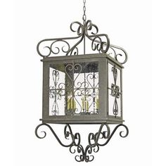 2nd Ave Design Myra 8 Light Outdoor Pendant Finish: Gilded Tobacco, Shade Type: Earth Marble