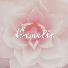 Camille / Latin: youth of unblemished character (pin by Alesha Steen) - Parenting Latin Baby Girl Names, Unique Girl Names, 2nd Baby, Baby Love, Baby Shower Table Centerpieces, Name Inspiration, Pretty Names, Names With Meaning, Names