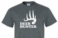 DEER HUNTER Tee Shirt great as a gift for Men, women, and children!! tee135