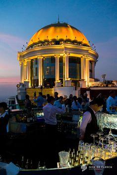 Sirocco Sky Bar at Lebua, Bangkok.
