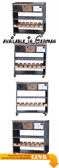 B005RAL4XA  Arredamenti Italia Küchenwagen GASTONE Holz - küchenwagen mit schubladen