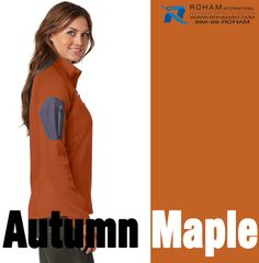 Apparel Color of the Week - Autumn Maple