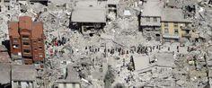 La soldarietä conI¨Italia; Forza hanno! #Edificio único que quedo de pie #Amatrice #Italia; luego del devastador #Terremoto; construido en #Año1950; tiene su #HistoriaCuriosa.