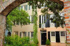 Elliott Street Row Houses, #Charleston, SC© Doug Hickok All Rights Reserved