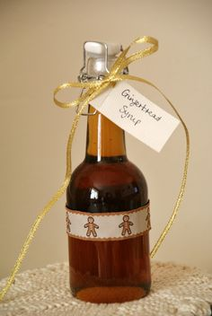 Home made Gingerbread syrup for coffee lovers