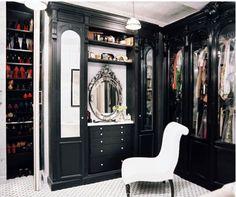 Habitually Chic®: In the Closet