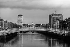 Ha'Penny Bridge by Rodrigo Cunha on Dublin, New York Skyline, Bridge, Explore, Portrait, Photography, Travel, Cunha, Photograph