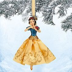 Disney Snow White Sketchbook Ornament | Disney StoreSnow White Sketchbook Ornament - Frocked in a glittering tulle gown, our joyful Snow White ornament is the fairest in the land. Dress your holiday tree with this classic Disney dreamer from <i>Snow White and the Seven Dwarfs</i>.