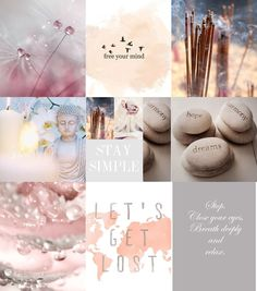 Free your mind . Inspiration Boards, Color Inspiration, Mood Colors, Colours, Collages, Pot Pourri, Color Collage, Collage Photo, Spiritual Health