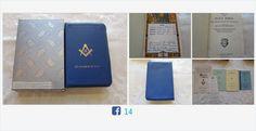 #Vintage #Masonic #Bible Great Light in #Masonry #freemason #Religion #gotvintage