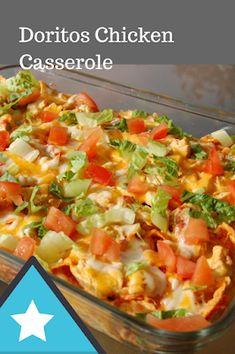 Recipes by Vance: Recipes - Doritos Chicken Casserole