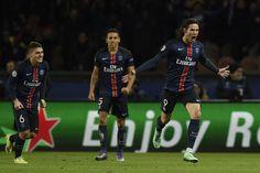 @PSG Le Paris n'a pas manqué son premier grand rendez-vous de l'année 2016. Grâce à des buts: Ibrahimovic et Cavani #9ine