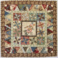 Blended mini quilt